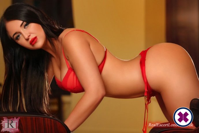 Anys is a very popular British Escort in London